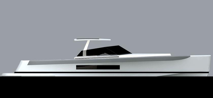 Gommone45 Duck Design Yacht Designers